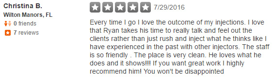 Dr. Ryan Greene Weston Florida Reviews