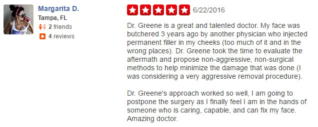 Amazing Review for Dr. Ryan Greene